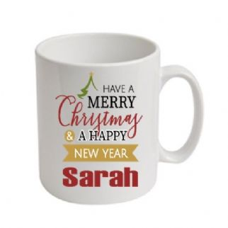 Have A Merry Christmas Personalised Mug